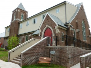 RCHP-AHC took pains to renovate while persevering the architectural character of the building, including its steeple and friendly red-door, which local residents appreciated.
